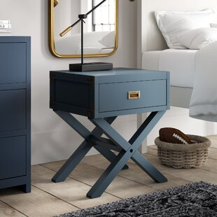 Benbrook 1 Drawer Nightstand by Greyleigh