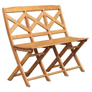 Arlott Wooden Bench By Sol 72 Outdoor