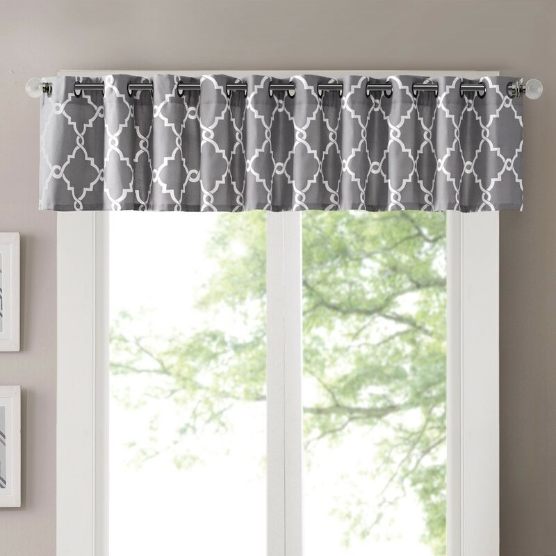 Three Posts Winnett LightFiltering 50 Curtain Valance Reviews