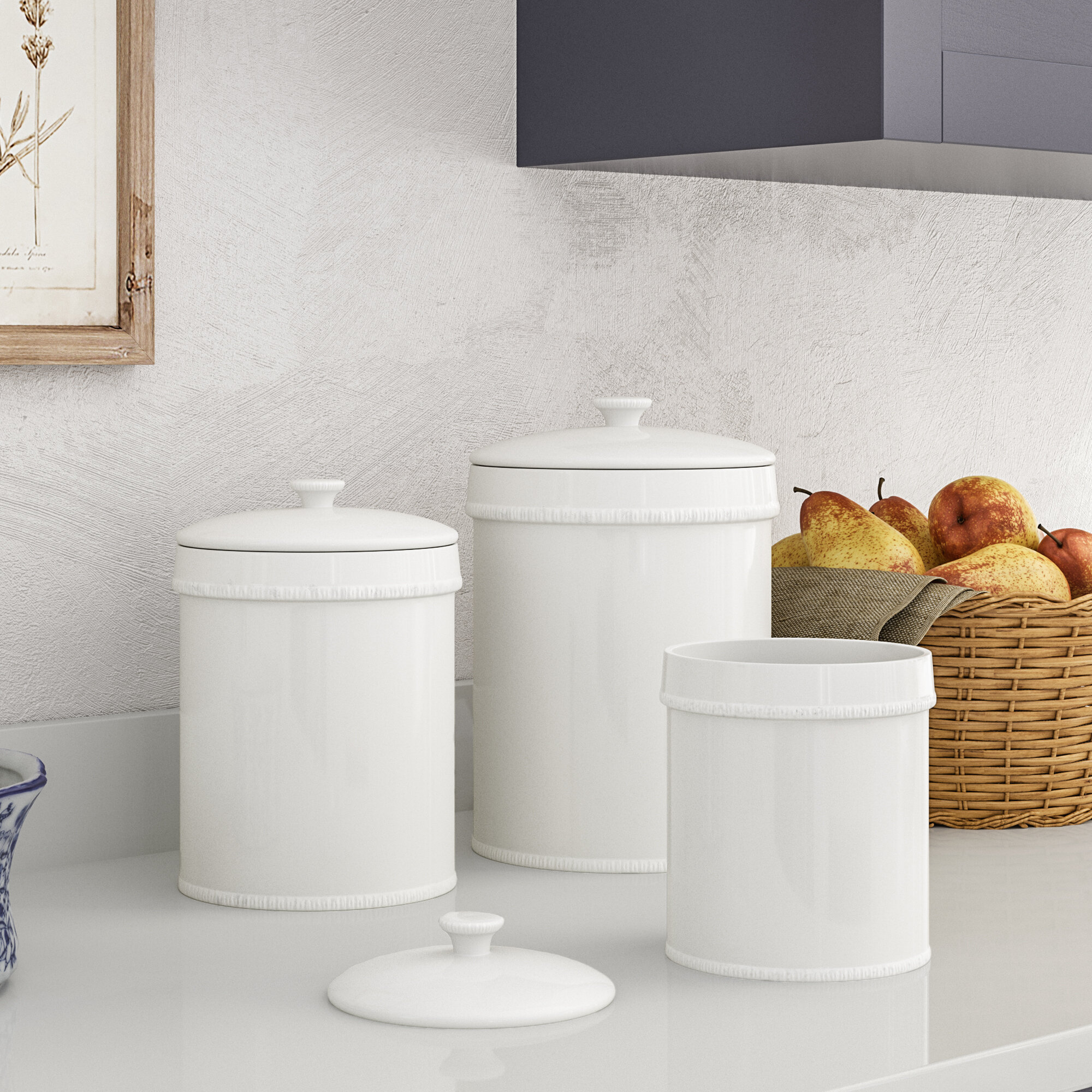 Terrific Extra Large Canister Set Wayfair Home Interior And Landscaping Ologienasavecom