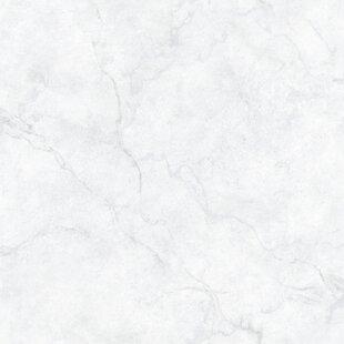 NuWallpaper 18 X 205 Carrara Marble Peel And Stick Wallpaper