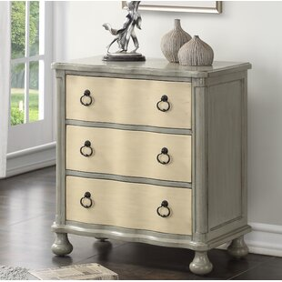 Alcott Hill Watsontown 3 Drawer Accent Chest