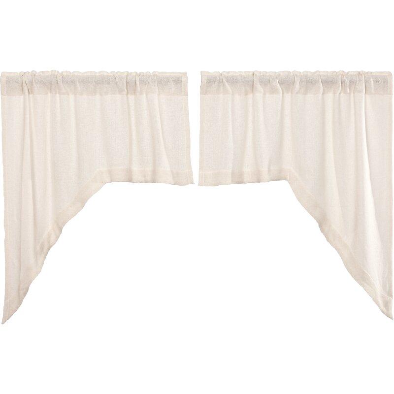 Loon Peak Alcala Cotton Swag 72 Window Valance Reviews Wayfair