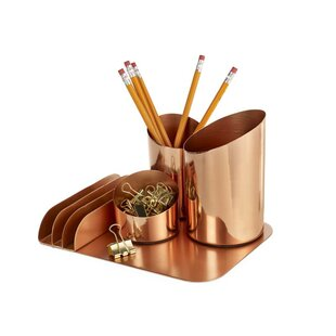 Design Ideas Bainbridge Desktop Organizer