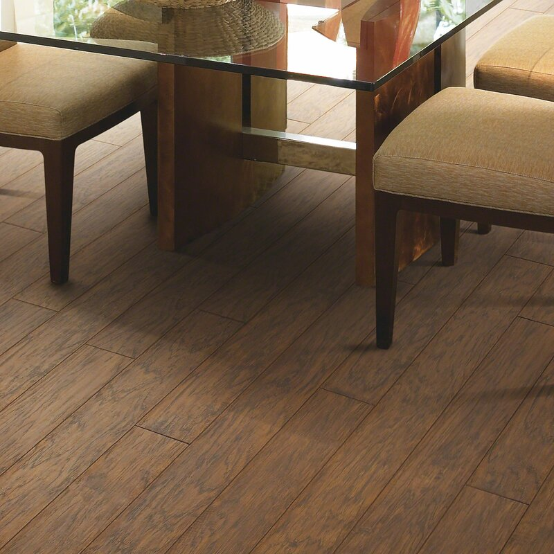 Shaw Floors Challenger 5 X 48 X 8mm Hickory Laminate Flooring In