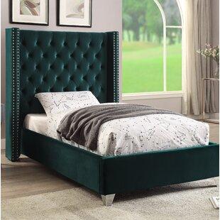 Everly Quinn Inverness Upholstered Platform Bed