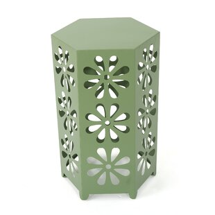 Perera Metal Side Table by Wrought Studio Looking for