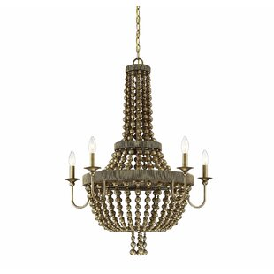 Bungalow Rose Pericles 5-Light LED Empire Chandelier