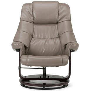 Pomeroy Manual Swivel Recliner With Ottoman