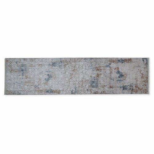 Aycock Tufted Bone/Blue Rug Williston Forge Rug Size: Runner