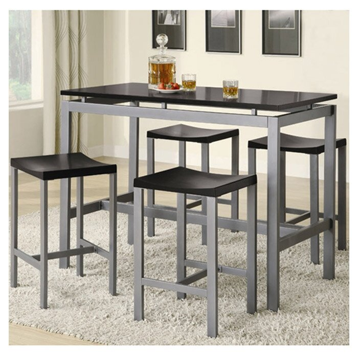 Great Swigart 5 Piece Pub Table Set