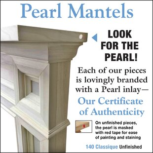 The Classique Fireplace Surround By Pearl Mantels