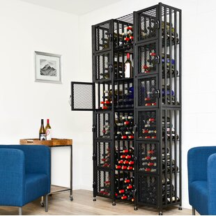 VintageView Locker 192 Bottle Floor Wine Rack