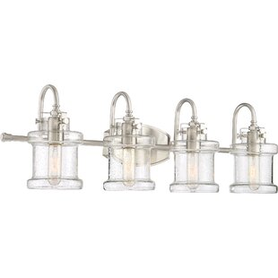 Best Deals Langford 4-Light Vanity Light By Latitude Run