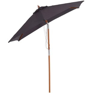 Areli 2m Traditional Parasol By Freeport Park