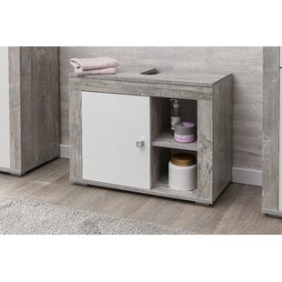 Bela 65cm Free-Standing Vanity Unit Base By Ebern Designs