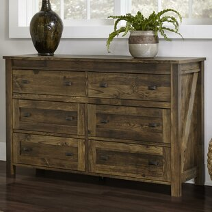 Minchinhampton 6 Drawer Double Dresser by Three Posts