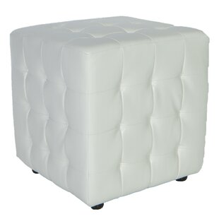 Izzo Tufted Cube Ottoman b..
