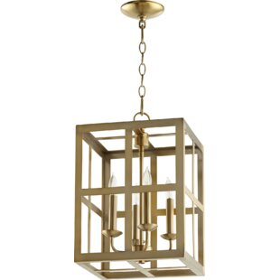 Montello Entry 4-Light Square/Rectangle Pendant by Breakwater Bay