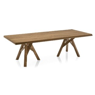 Jungle - Table - Walnut Ash Veneer Top - Walnut Ash Wood Frame and Legs Calligaris