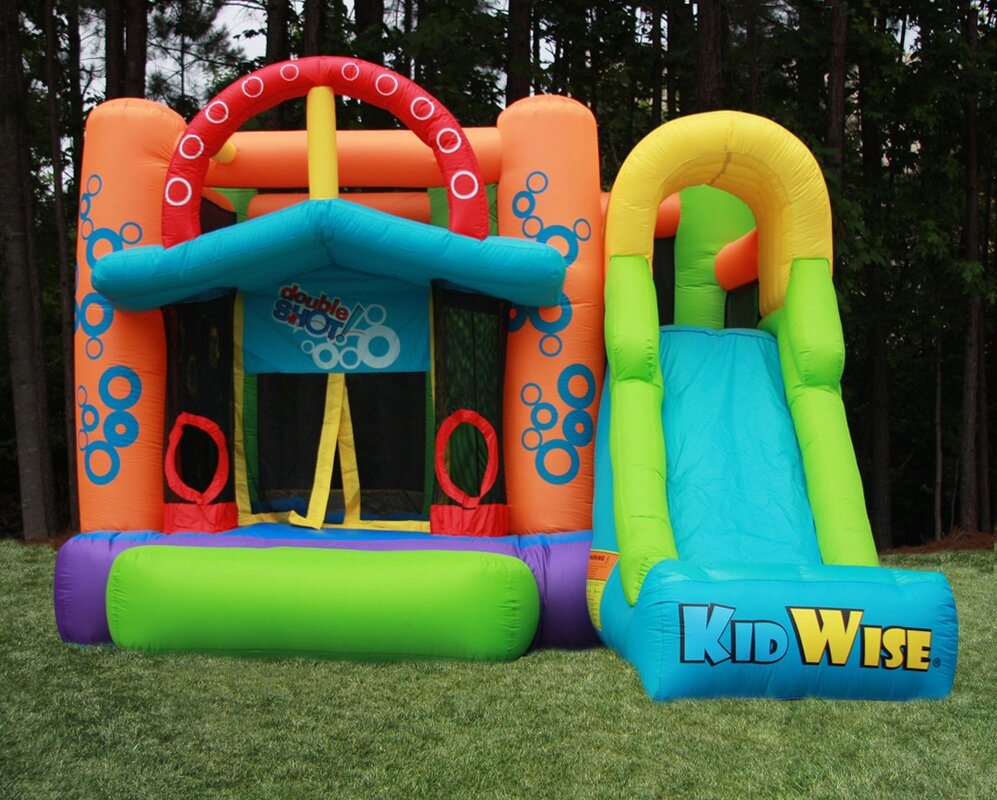 Kidwise Double Shot Bounce House & Reviews | Wayfair