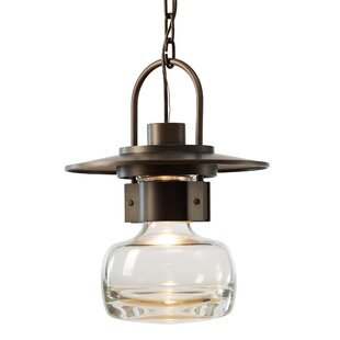 Compare prices Mason 1-Light Outdoor Hanging Pendant By Hubbardton Forge