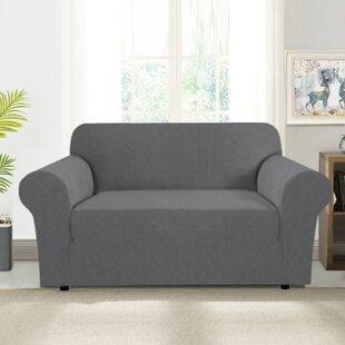 Loveseat Regular Box Cushion Slipcovers You Ll Love In 2021 Wayfair