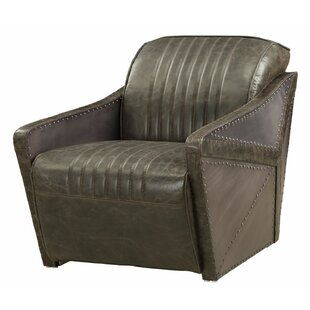Talley Leatherette Armchair
