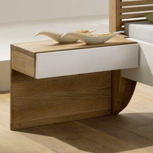 Harbuck 1 Drawer Bedside Table By Brayden Studio