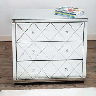 Abner 3 Drawer Chest By Canora Grey