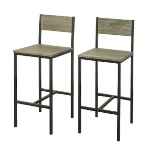 Sighfrith 67cm 2 Piece Bar Stool Set (Set Of 2) By 17 Stories