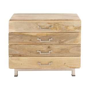 Bell Haven 4 Drawer Accent Chest by Foundry Select