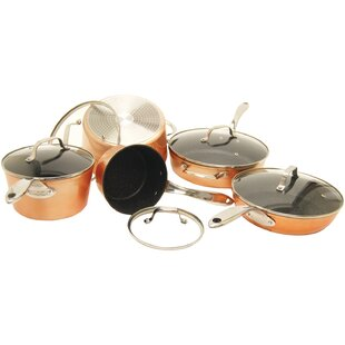 9 Piece Non-Stick Cookware Set