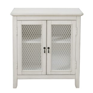 Jovan Mesh Front 2 Door Accent Cabinet By Highland Dunes