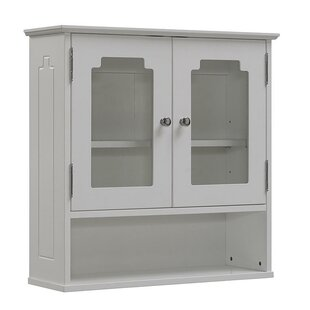Natural Beauty 23.62 W x 23.63 H Wall Mounted Cabinet by RunFine Group