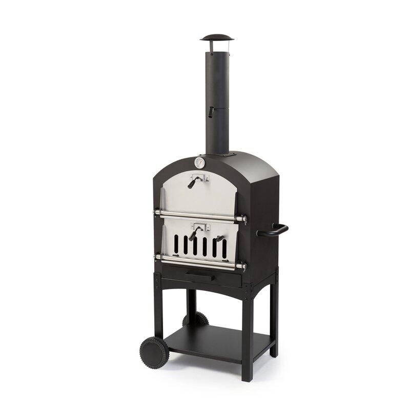 Wppo Wood Fired Garden Pizza Oven Reviews Wayfair