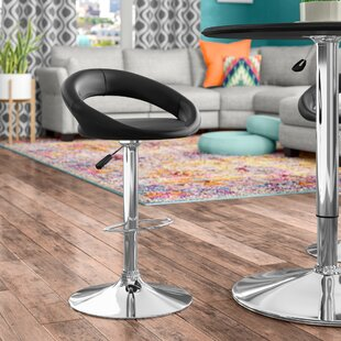 Jerald Height Swivel Bar Stool (Set of 2)..