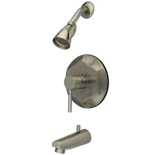 Kingston Brass Concord Single Handle Tub and Shower Faucet