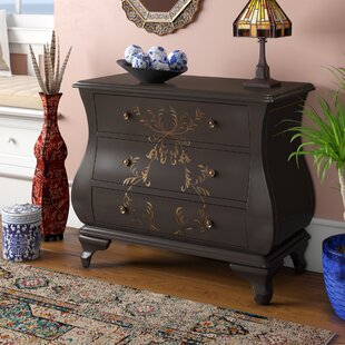 Sarahi 3 Drawer Chest by World Menagerie