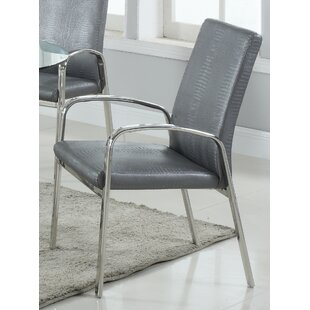Katharine Upholstered Dining Chair (Set of 2) Orren Ellis
