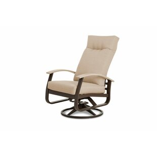 Belle Isle Adjustable Swivel Rocking Patio Chair with Cushions