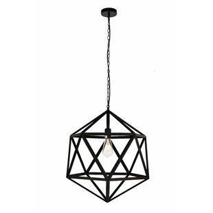 Wrought Studio Mullings 1-Light Pendant