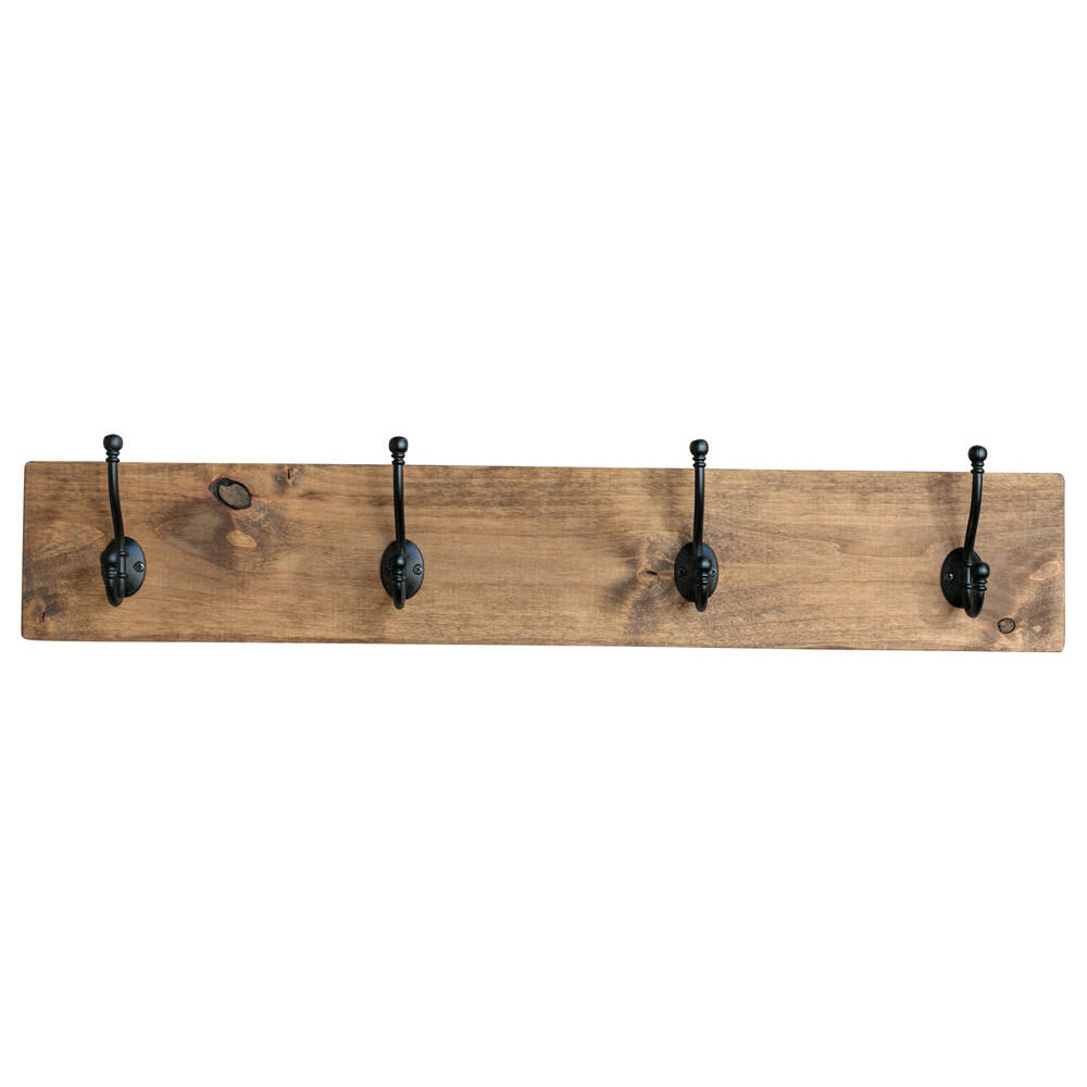 Hook Board Wall Mounted Coat Rack