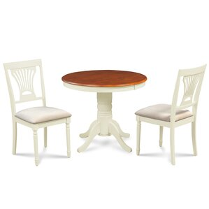 Cedarville Contemporary 3 Piece Dining Set by Alcott Hill
