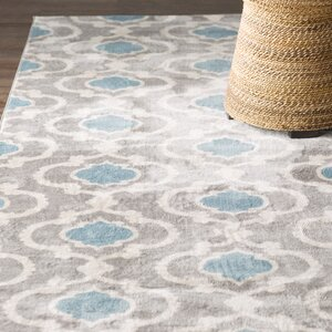 Melrose Gray/Blue Area Rug