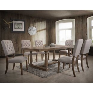 Ahner 7 Piece Dining Set One Allium Way