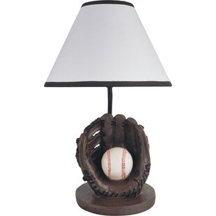 Sports table lamps youll love sports baseball 16 table lamp mozeypictures Choice Image