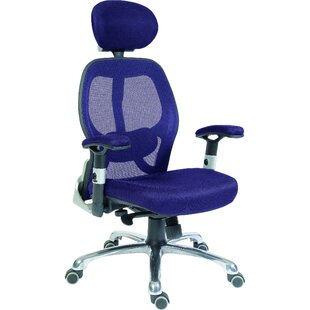High-Back Mesh Executive Chair With Lumbar Support By Brayden Studio