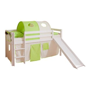 Trinity European Single Mid Sleeper Bed With Textile Set By Zoomie Kids
