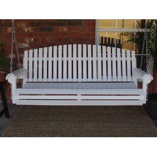 Soder Fan Back Style Porch Swing by August Grove